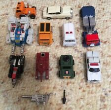 8 1983-1984 Takara or Bandai Transformers + 2 Other Transformers/Go Bots