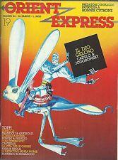 ORIENT EXPRESS rivista n° 19 ( TOPPI ecc.)