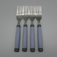 SET OF FOUR - Pfaltzgraff Stainless MYSTIC Salad Forks *