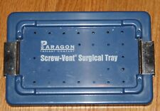 Paragon Screw-Vent Surgical Tray Dental Implants