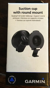 Garmin Universal Car Suction Cup with Round Mount NEW Free Shipping