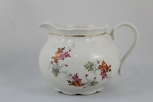 Gravy Boat Porcelain With Decoration Floral And Style Shabby Chic Vintage