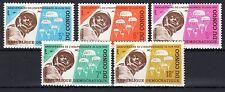 Congo (Zaïre) - 1965 5 years independence  - Mi. 235-39 MH