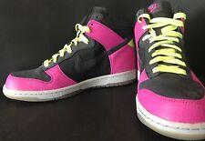 Nike Dunk Hi Supreme Spark Size 9 Mens Shoes 2008 333885 002 Black Pink Citron