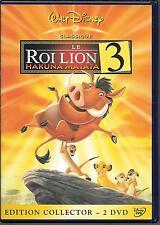 2 DVD ZONE 2 COLLECTOR--WALT DISNEY N° 71--LE ROI LION 3 - HAKUNA MATATA