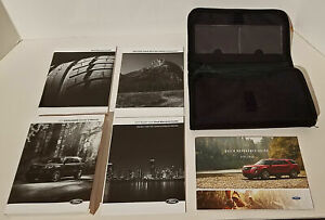 2017 FORD EXPLORER XLT LIMITED PLATINUM OWNER MANUAL SET WITH CASE FREE SHIPPING