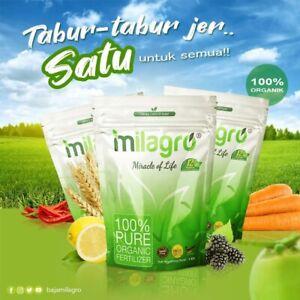Baja Organik Milagro 1Kg/Organic Fertilizer 100% Pure Organic Fertilizer