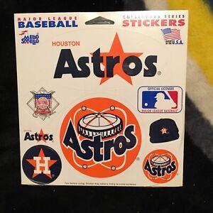 Houston Astros. Mello Smello Sticker set. New in shrink.