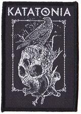 Katatonia patche officiel écusson licence patch à coudre Doom Black Metal