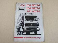 Fiat 150 NC NR NT /20 Bedienungsanleitung Betriebsanleitung Wartung 1976