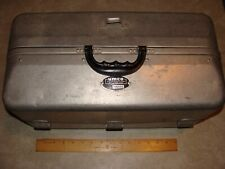 Vintage Umco Aluminum Fishing Tackle Box 1000As 7 Tray Good Condition