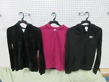 3 LADIES WOMENS SMALL EVERLAST SWEATSHIRT HOODIE WORK OUT ATHLETIC CLOTHING LOT