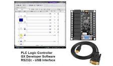 Plc Ladder Logic Programmable Controller Board W Software Amp Program Interface Us
