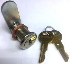 """1"""" Body Length 90 Degree Rotation Heavy Duty Cam Lock with Two Keys"""