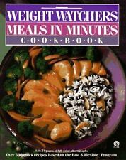 Weight Watchers Meals in Minutes Cookbook (Plume)-ExLibrary