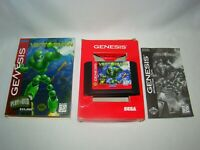 Sega Genesis Vectorman game cartridge w/ cardboard box & manual, tested working