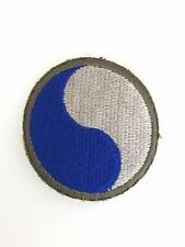SUPERIOR QUALITY WWII U.S. Army 29th Infantry Division cloth sleeve patch