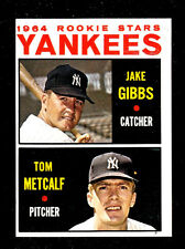 1964 TOPPS BASEBALL # 281  1964 YANKEES ROOKIE STARS  EXMT  CONDITION   INV 9949