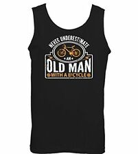 Patternless Cycling Sleeveless T-Shirts for Men