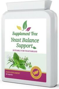 Yeast Balance 60 Capsules - High Strength Thrush Candida Cleanse Support Complex