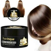 HAIRINQUE 5 Sec Restore Soft Shiny Hair Magical Treatment Mask Hair Repairm B6A3