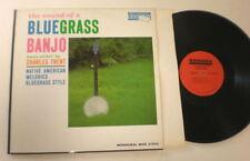 Bluegrass Banjo Charles Trent Smash MONO 27002