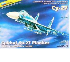 Su-27 1/72 Zvezda