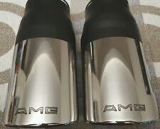 Classic AMG Endrohre Exhaust tips Mercedes w126 w107 w123 w201 w116 SEC