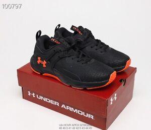 Under Armour UA HOVR Phantom 2 ColdGear Reactor Men's Running Shoes Black Orange