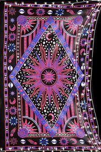 Burning Sun Tapestry Boho Indian Wall Hanging Wholesale Bulk (77cmX102cm) Br-05