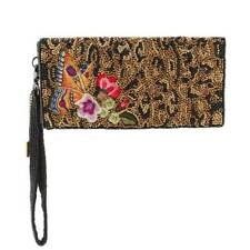 300739f7c835 Mary Frances Wild Garden Crossbody Leopard Black Spring Bead Bag Handbag