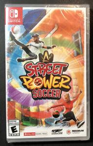 Street Power Soccer (Nintendo Switch) NEW