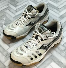 New listing Mizuno Wave Rally Women's Size 9 Volleyball Sneakers Shoes White Tie 9KV-08909