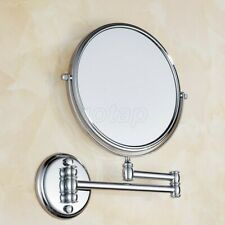 Bathroom Accessory Chrome Brass Wall Mounted Beauty Makeup Round Mirror GD727