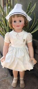"Madame Alexander 36"" Nurse Joanie doll Gorgeous All Original 1960"