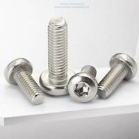 20pcs M6 STAINLESS HEX SOCKET HEAD ALLEN BOLTS SCREWS householdHardware