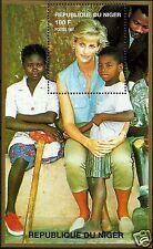 LADY DIANA, PRINCESS OF WALES, LANDMINE VICTIMS IN ANGOLA