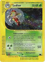 CCG 45 Pokemon Skyridge Holo Ledian H14/H32 Deutsche Karte BGS / PSA 9.0 ?