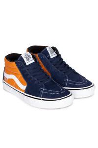 Vans Skate  Grosso Mid  Navy/Orange