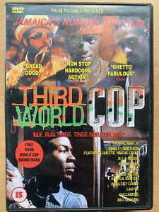 Third World Cop DVD 1999 Jamiacan Yard Film Crime Classic Rare
