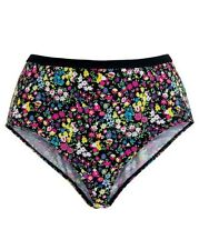 Beach 2 Beach  Girls Bikini - Briefs-Knickers-Thongs -Ditsy Print - Size UK 12