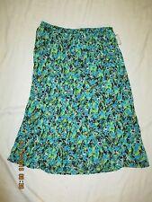 DANA BUCHMAN new with tag ISLAND pleated skirt siz L STYLE WDBR159001PR6 PULL-ON