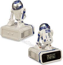 STAR WARS Movie R2-D2 Droid R2D2 Digital Desk Clock Time & Date Disney Store