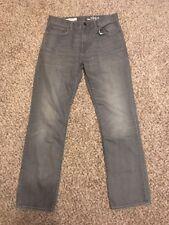 Gap 1969 Straight Leg Gray Jeans Size 30X30