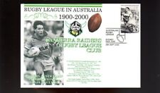 CANBERRA RAIDERS 1900-2000 RUGBY COVER, BRAD CLYDE