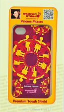 Whatever It Takes Tough Shield Case Paloma Picasso (Dark Red) for iPhone 4 / 4S