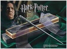 Harry Potter Professor Snape's Wand with Ollivanders Box Authentic Replica BNIB