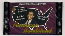 Dick Clark American Bandstand MINT Pack of 8 cards! Include Dick and all stars!