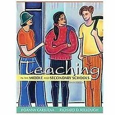 Teaching in the Middle and Secondary Schools (10th Edition) by Carjuzaa, Jioann