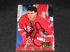 Red Wings Keith Primeau Auto 1994/95 Fleer Ultra Signed Card #65  JB10